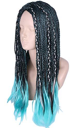 Topcosplay Adult Cosplay Wig Long Braids Halloween Costume Wigs for Women -