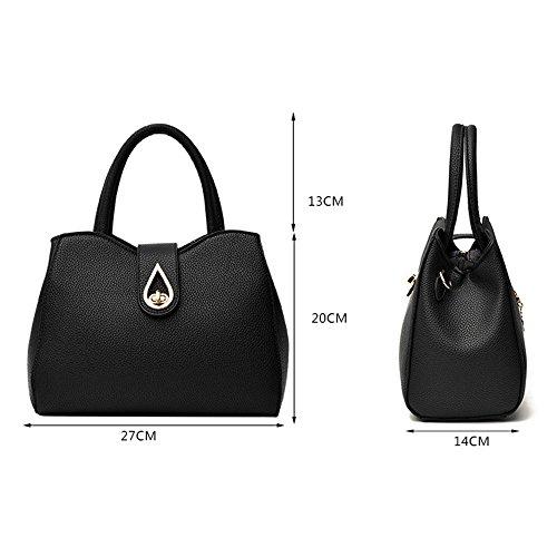 Lichee A mode Femmes Bandoulière Dodumi Messenger Guess Soldes Motif sacs Paquetage sacs Bag Femme Sac Sacs Bandouliere À Noir Femme ww78xqAB