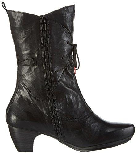 Think ANA - Botas de caña baja para mujer Negro (Schwarz 00)