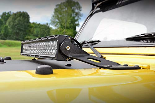 20 inch hood mount jeep - 8
