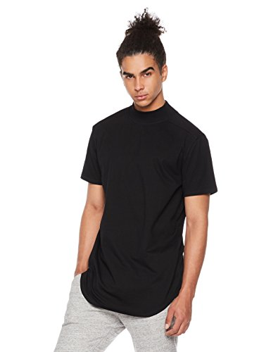 Rebel Canyon Men's Young Jersey Short Sleeve Mock Neck X-Large - Shop Black Men In