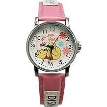 Pink Winnie the Pooh Leatherband Ladies Watch