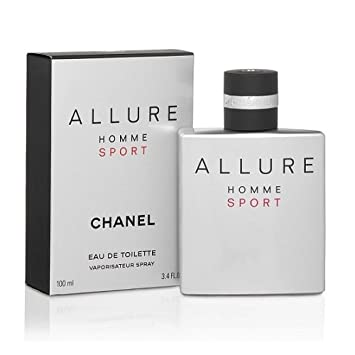 C H A N E L Allure Homme Sport EDT Spray 3.4 Oz.