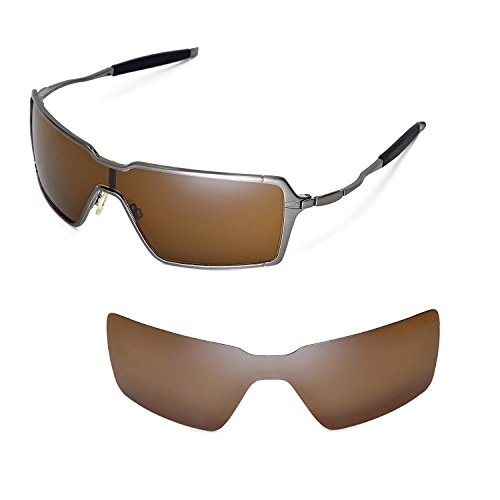 Walleva Replacement Lenses for Oakley Probation Sunglasses - Multiple Options Available (Brown - - Sunglasses Probation