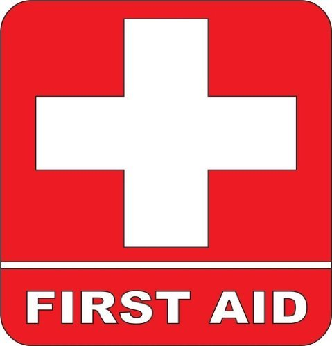 First aid Kit Emergency Symbol Logo sticker Picture Art - Pe