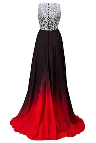 Gorgeous Abendkleider Elegant Damen Mehrfarbig Ballkleider Bride Lang 2017 Chiffon G A Cocktailkleider Linie Festkleider grxTgwn