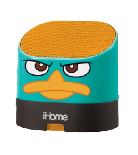 Phineas and Ferb Portable Rechargeable Speaker with Carrying Case for MP3 Players/iPhone/iPad, DF-M63