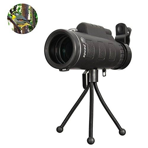 Monocular-TelescopeFDorla-35X50-Outdoor-Portable-High-powered-Wide-angle-Monoculars-Zoom-Lens-Night-Vision-Travelling-Telescope-with-Tripod-Cell-Phone-Holder-for-Hunting-Camping-Birds-Watching
