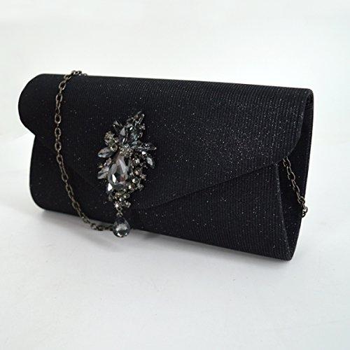 Meliya Meliya femme Meliya Noir Pochette pour pour Pochette Noir Pochette femme pour 5f56TR