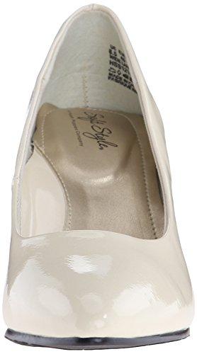 Soft Style von Hush Puppies Raylene Kleid Pump Ivory Pearlized Patent
