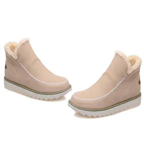 manicotto e negli scarpe ZQ il QXIn Uniti Europa Beige e codice opaca stivali stivali Stati BzT7gF