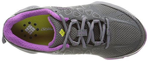 Columbia Conspiracy Titanium Outdry® - Zapatos de Low Rise Senderismo Mujer Multicolor (Quarry/Razzle)