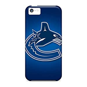 Iphone Scratch-proof Protection Vancouver Canucks Cases Cover Of Iphone 5c