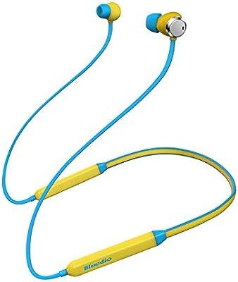 fac8bdb1733 Bluedio TN (Turbina) Auriculares con cancelación de Ruido Activo, Bluetooth  4.2, Auriculares Deportivos inalámbricos, audífonos magnéticos Resistentes  al ...