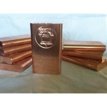 Amazon Com 1 Pound 999 Fine Copper Bullion Bar Great