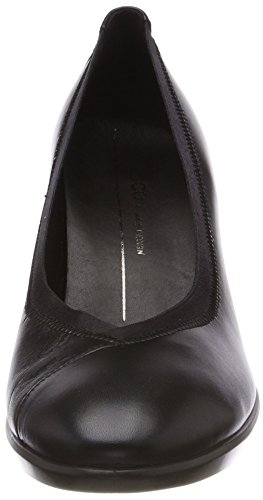 Ecco Damen Vorm 55 Plateau Stack Pumps Zwart (black)