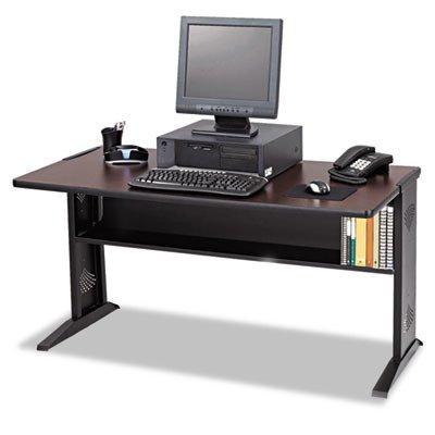 SAF1931 - Safco Computer Desk W/Reversible Top