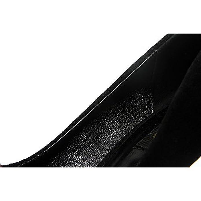 Scarpe E Borse Da Donna Col Tacco Sconosciuto 1to9 Sandali Con Zeppa Nero black 35 5 Eu Mmsg00017