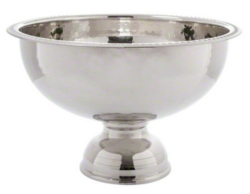 American Metalcraft (HMPB12) 8 qt Hammered Punch Bowl by American Metalcraft