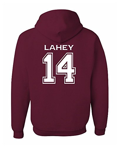(Adult Lahey 14 Beacon Hills Lacrosse 2-Sided Hoodie Medium)