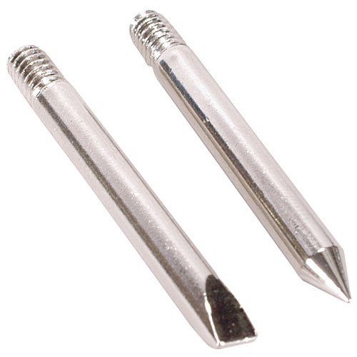 ECG JT-101 Conical And Chisel Replacement Tip for J-025 Soldering Iron (Pack of 2)