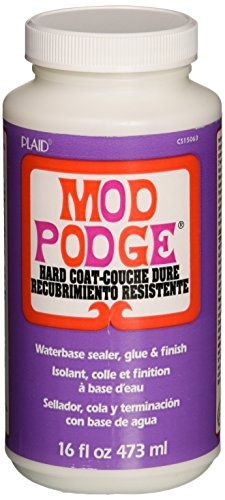 Mod Podge Waterbase Sealer, Glue and Finish (16-Ounce), CS15063 Hard - Finish Coat