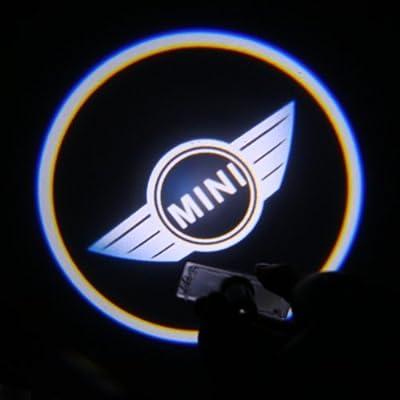 LEMONBEST® 2pcs Brand New Car MINI LED Projector Door Shadow Logo Light Welcome Light Logo lamp for MINI, Model: , Car & Vehicle Accessories / Parts