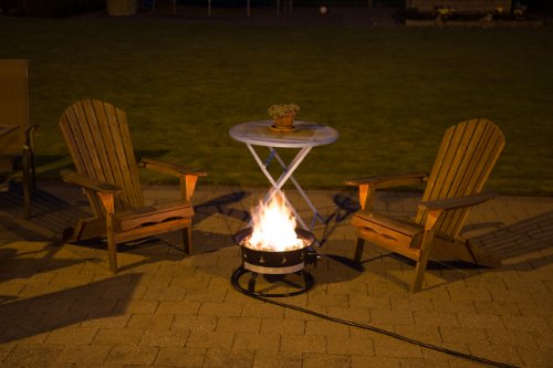 Heininger 58 000 Btu Portable Propane Outdoor Fire Pit And
