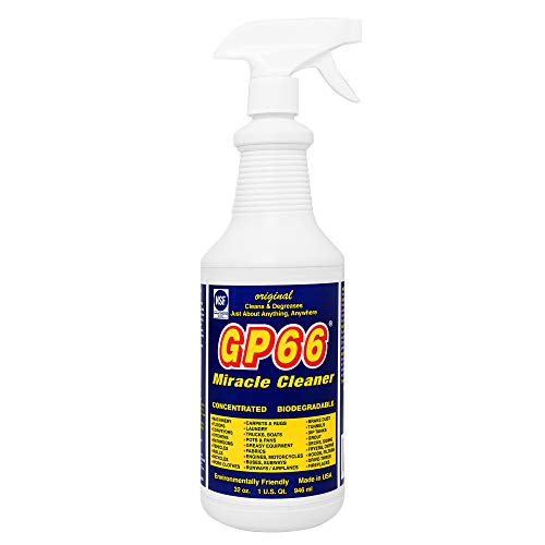 GP66 Green Miracle Cleaner Super Size! (32 oz.) Powerful American Made Heavy Duty All Purpose Cleaner Cleans Over 1,000 Surface Types