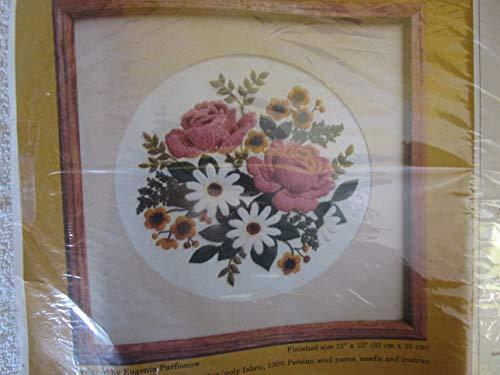 Classic Bouquet Crewel Kit (Bouquet Crewel Embroidery Kit)