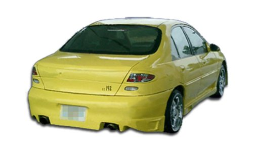 Duraflex Replacement for 1997-2002 Ford Escort 4DR Buddy Rear Lip Under Spoiler Air Dam - 1 Piece