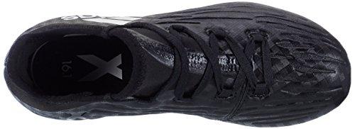 adidas X 16.1 Fg J, Botas de Fútbol para Niños Negro (Core Black / Ftwr White / Core Black)