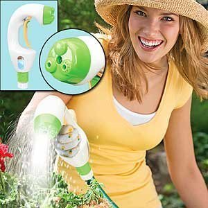Garden Jet - Sprays Water and Liquid Plant Food Together, Ideal for Arthritis Sufferers