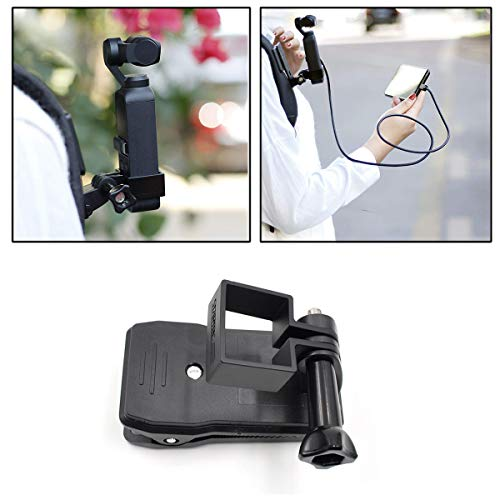 for DJI OSMO Pocket Handheld Stand Expansion Accessories Bracket with Backpack Clip for DJI OSMO Pocket Gimbal Camera Stabilizer Holder