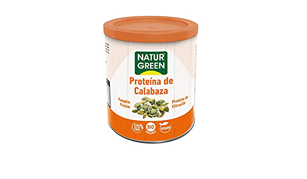 Proteína Calabaza BIO Naturgreen, 250 g: Amazon.es: Hogar