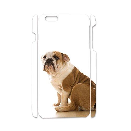 - Tyboo for iPhone 6 6S Plus Amusing for Children Plastics Design with English Bulldog Dog Phone Case