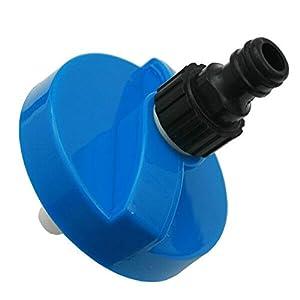 1753 Tankdeckel Wassertankdeckel Gardena Anschluss Wohnwagen Wohnmobil Caravan blau groß 6016H