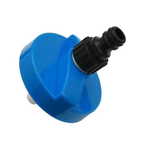 414hNqkuNAL 1753 Tankdeckel Wassertankdeckel Gardena Anschluss Wohnwagen Wohnmobil Caravan blau groß 6016H