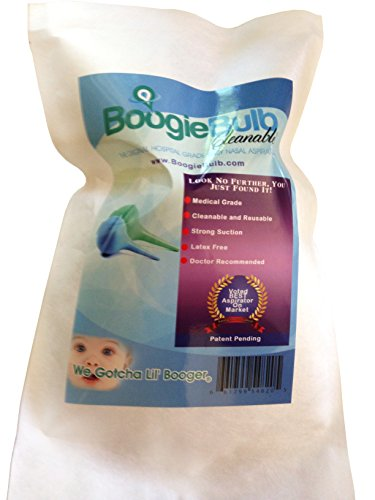 Boogiebulb Baby Nasal Aspirator And Booger Sucker For
