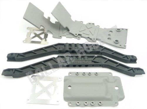 Traxxas T-Maxx 3.3 *SKID PLATES & CHASSIS BRACES* Lower