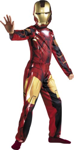 Boys Iron Man 2 Mark VI Costume - Mark 6 Iron Man Costume