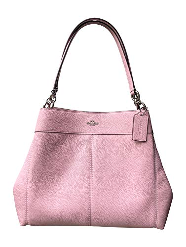 Coach Pebbled Leather Lexy Shoulder Bag Handbag ()