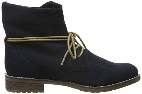 Jane Klain Damen Schnürstiefelette Desert Boots Blau (830 NAVY)