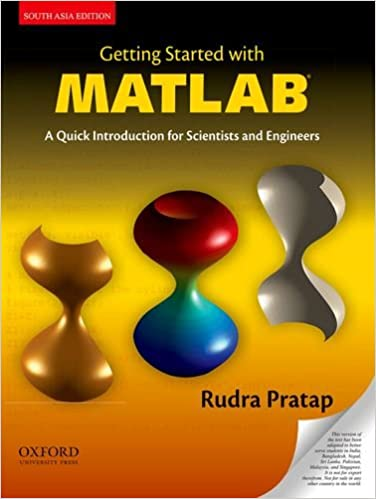 Buy Getting Started with MATLAB: A Quick Introduction for