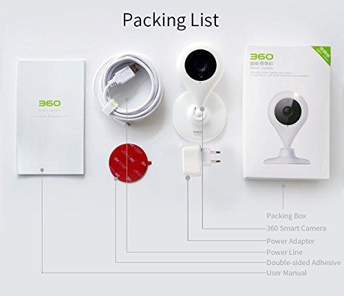 360 Smart Camera 1080P HD Mini WIFI Security Home: Amazon in