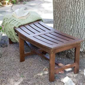 Awe Inspiring Amazon Com Chooseandbuy Curved Outdoor Backless Garden Lamtechconsult Wood Chair Design Ideas Lamtechconsultcom