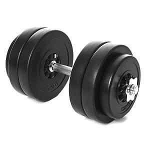 Kinetic Sports Kurzhantel Set 15 kg Hantel Gewichte Hantelscheiben (4 x 2,5...