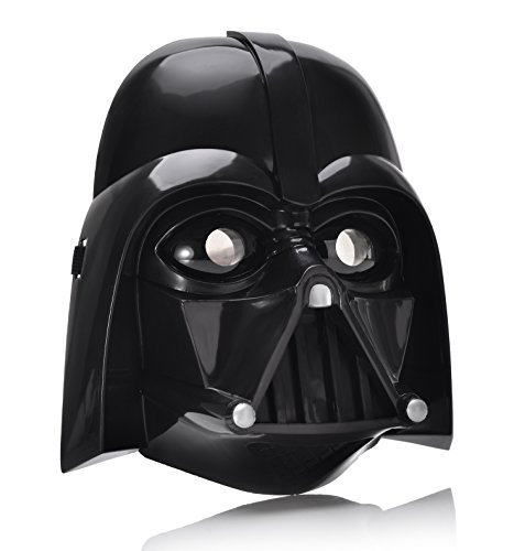 REINDEAR Halloween Costume Star Wars LED Light Eye Mask (Darth Vader)]()