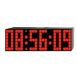 ZJchao Big Time Clocks LED Digital Alarm / Countdown/up Clock with Remote