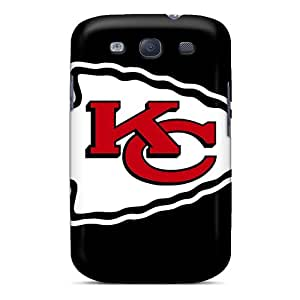 Shockproof Hard Phone Case For Samsung Galaxy S3 With Provide Private Custom Lifelike Kansas City Chiefs Image AnnaDubois